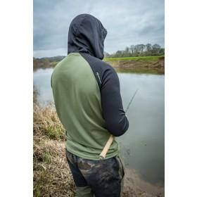 Korum Dri-active Hooded Longsleeve Shirts