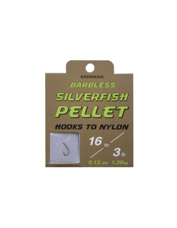 Drennan Silverfish Pellet Hooks to Nylon