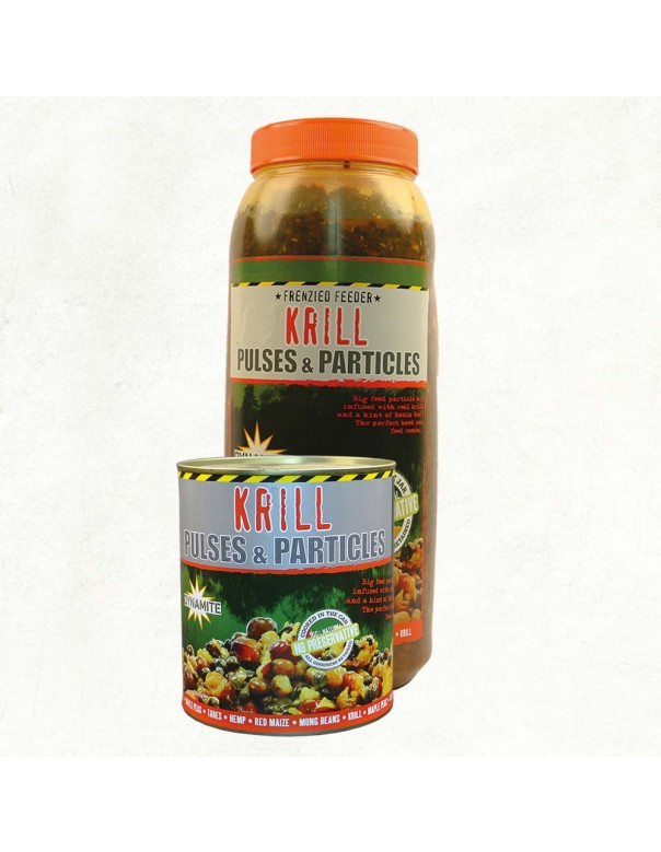 Dynamite Baits Frenzied Krill Pulses & Particles