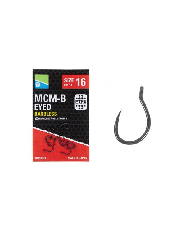 MCM-B Eyed Hook Barbless