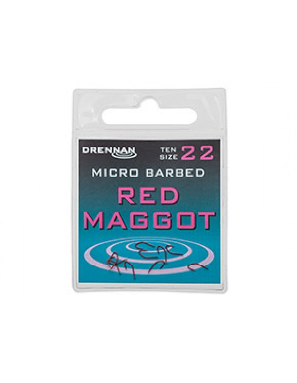 Red Maggot Hook