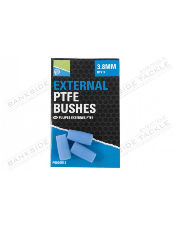 Preston Innovations External PTFE Bushes (3 Per Pack)