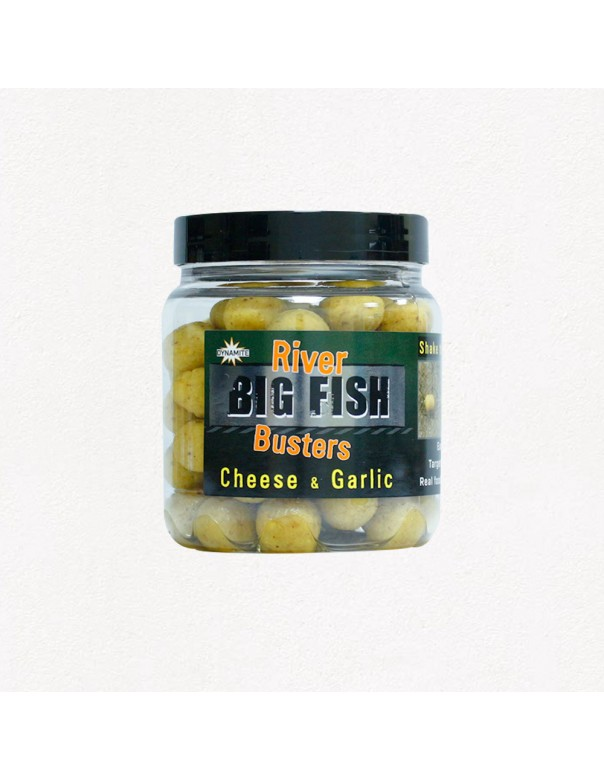Dynamite Baits Big Fish River Hookbaits Cheese & Garlic