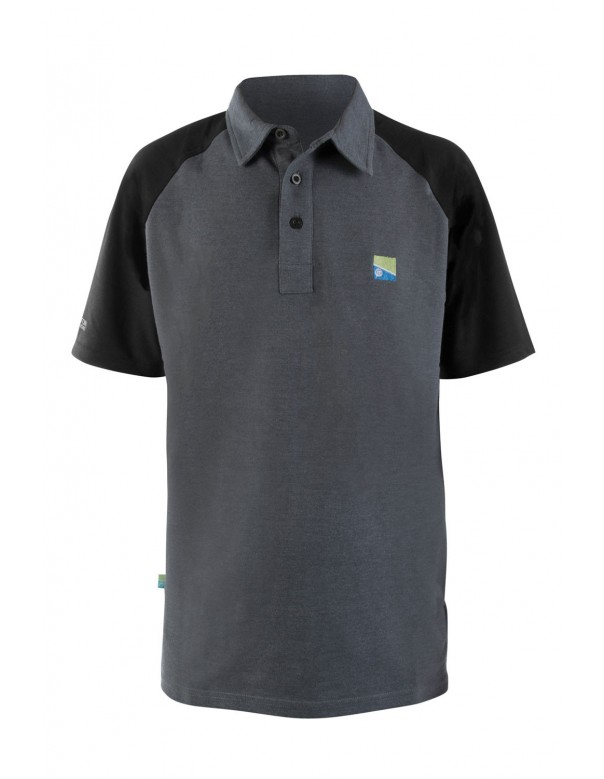Preston Innovations Grey Polo Shirt