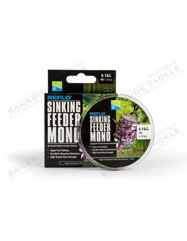 Preston Innovations Reflo Sinking Feeder Mono [150M]