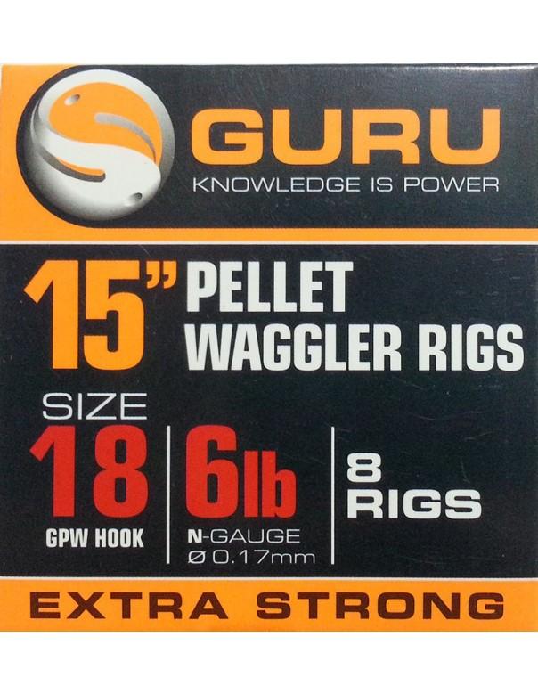 Pellet Waggler Rigs 15in