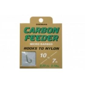 Drennan Carbon Feeder Hooks to Nylon