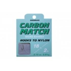 Drennan Carbon Match Hooks to Nylon