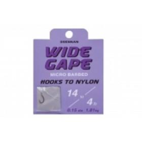 Drennan Wide Gape Hooks to Nylon