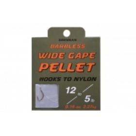 Drennan Wide Gape Pellet Hooks to Nylon