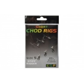 ESP Short Chod Rigs - Barbed