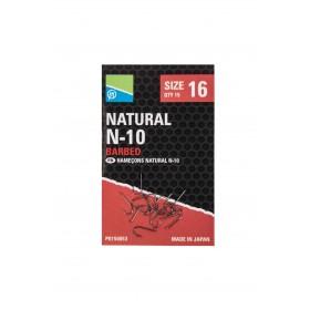 Natural N-10 Hook Size 12 Barbed