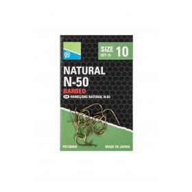Natural N-50 Hook Size 6 Barbed