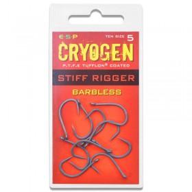 Cryogen Stiff Rigger Hook Barbless