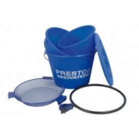 Preston Innovations Groundbait Bucket & Bowl Set