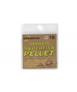 Drennan Silverfish Pellet Hooks [Barbless]