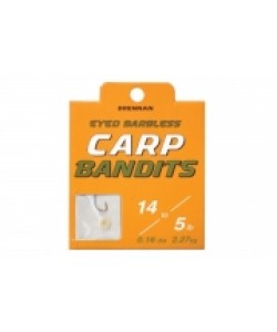 Drennan Carp Bandits Hooks to Nylon