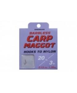 Drennan Carp Maggot Hooks to Nylon