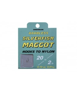 Drennan Silverfish Maggot Hooks to Nylon